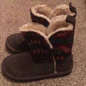 Festive warm furry boots! 🎄🎅🏼🎁